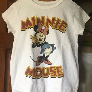Disney minnie mouse print t-shirt